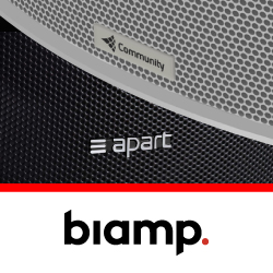 Biamp стала владельцем Community Loudspeakers и Apart Audio
