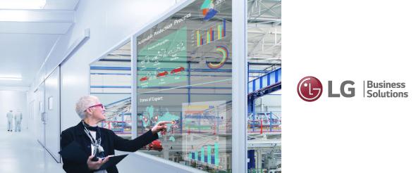 Новинка от LG — прозрачный сенсорный OLED-дисплей