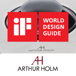 Arthur Holm выиграл премию iF DESIGN AWARD 2021!