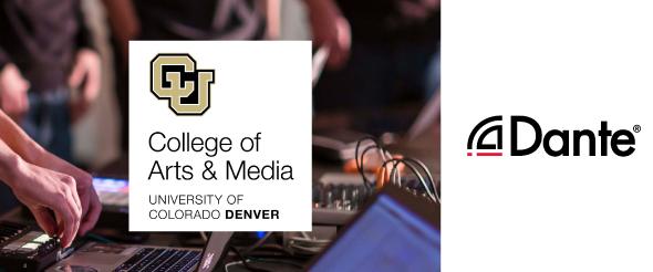 Сеть Dante как часть рабочего процесса и учебной программы университета Колорадо в Денвере