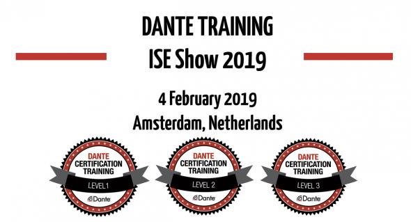 02ca226ce ISE 2019: Dante тренинги компании Audinate и новые продукты Dante AV