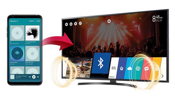 lg-65ut661h - Технология Bluetooth Sound Sync