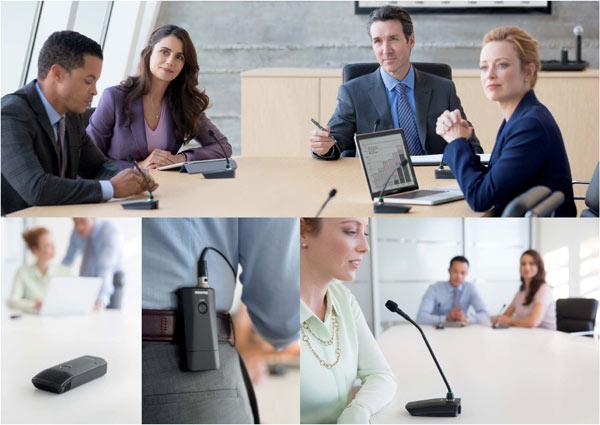 Shure Microflex™ Wireless - беспроводная конференс-система подстраивается под вас