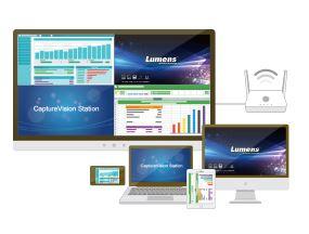 Lumens TapShare - Одновременная демонстрация до 4 источников сигнала