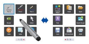 Sharp Pen Software