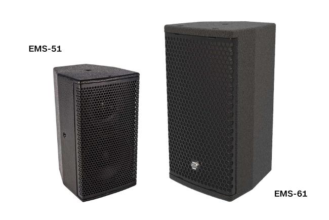 Подвесная система для вокала, а именно вторая линия задержки – состоит из 14 громкоговорителей EMS-61. Восемь EMS-51 работают в качестве систем озвучивания под балконом, а еще 14 x EMS-51 служат в качестве систем озвучивания первых рядов.