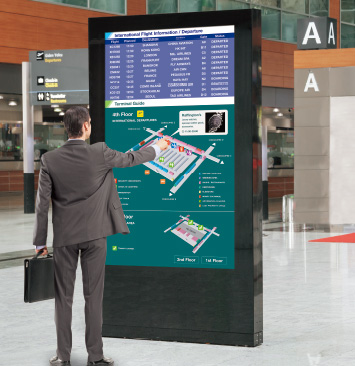4K Interactive Signage