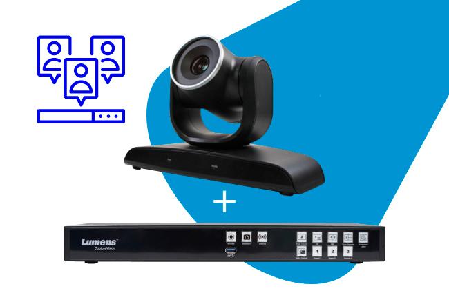 Комплект Lumens LC200 и поворотная камера