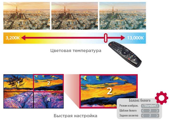 lg 49VL5B - меню для видеостен