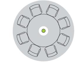 Карта покрытия потолочного массива микрофонов 2