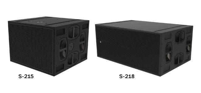 Звуковая система в Фестивальном театре включает два сабвуфера S-215, два сабвуфера S-218