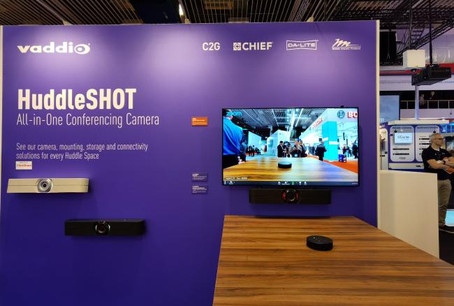 Итоги ISE 2020: варианты решений для ВКС в huddle-room'ах