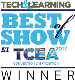 Награда Tech Learning Best Show TCEA