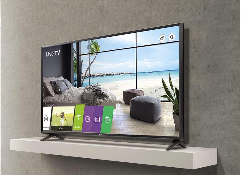 Телевизоры LG Commercial Lite специально разработаны для гостеприимства и бизнеса.