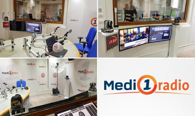 Lumens, студия Medi1radio
