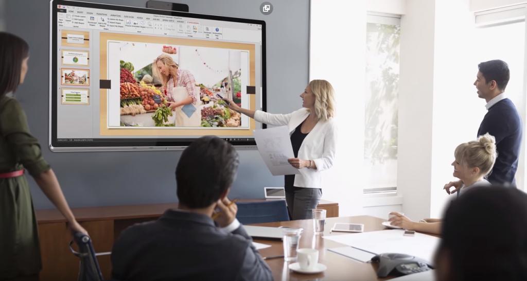 Sharp Windows Collaboration Display сочетает лучшие инструменты совместной работы