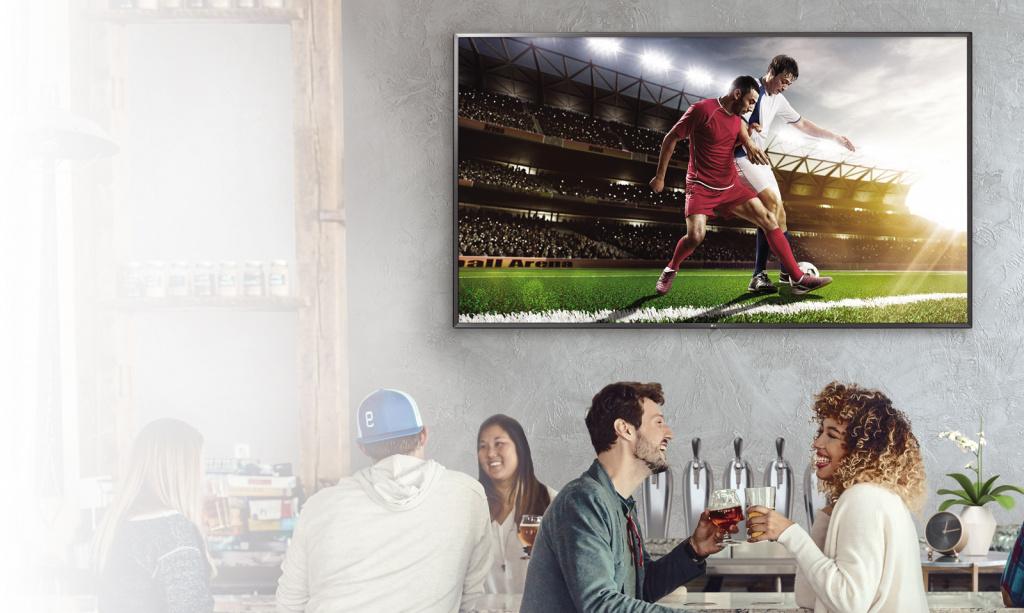 Коммерческое телевидение LG с функцией Essential Smart
